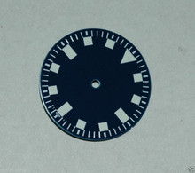 Sterile Blue Snowflake Snow Flake Watch Dial DG 2813 - White Superluminova