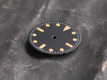 Plain Milsub Watch Dial for ETA 2824 / 2836 Movement w/o date Orange Lume T < 25