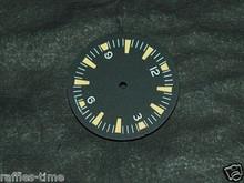 Sterile Seamaster 300 Dial for DG 2813 Number@12 Yellow Superluminova