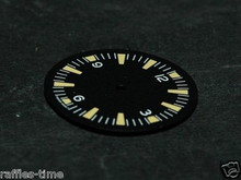 Plain Seamaster 300 Dial for ETA 2836 / 2824 Number@12 Yellow Superluminova