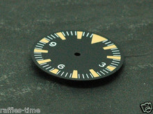 Plain Seamaster 300 Dial for DG 2813 Movement Triangle@12 Orange Superluminova