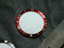 Submariner Style Red White Bezel Insert Coca Cola