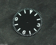 Sterile Vintage Explorer Watch Dial for DG 2813 Miyota 8200 Movement 29mm