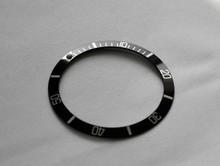 Submariner 5512 5513-2 1665 1680 Black / Silver Bezel Insert to fit Rolex