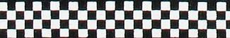 Checkerboard Beastie Band Cat Collar
