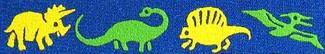 Dinosaurs Beastie Band Cat Collar