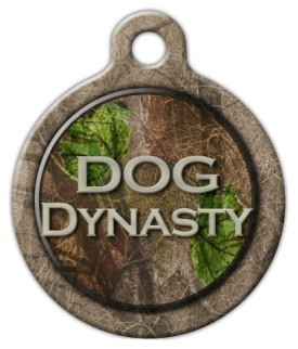 Dog Dynasty Dog ID Tag