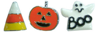 Halloween Slide Charms