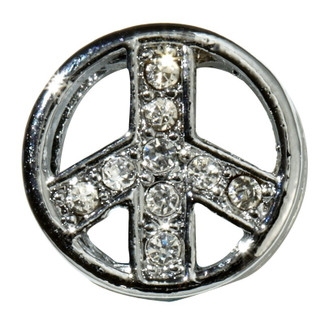 Peace Sign Slide Charm