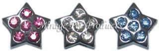 Slide Star Charm