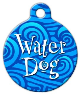 Water Dog Dog ID Tag