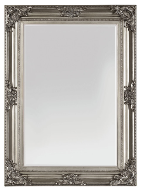 Beaumont Antique Silver Mirror