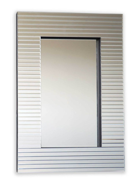Miami Beveled Ridge Mirror
