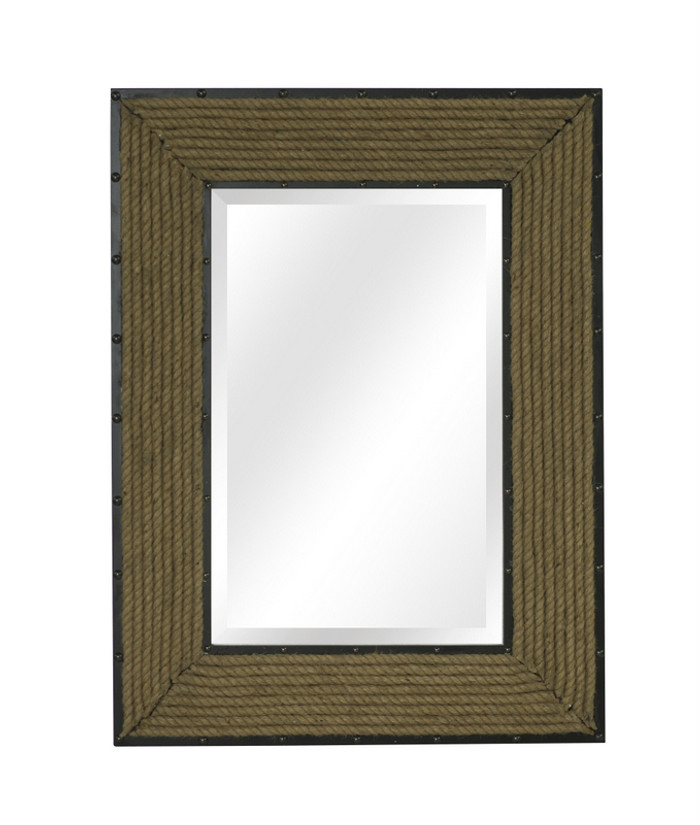 Newport Rope Rectangle Wall Mirror