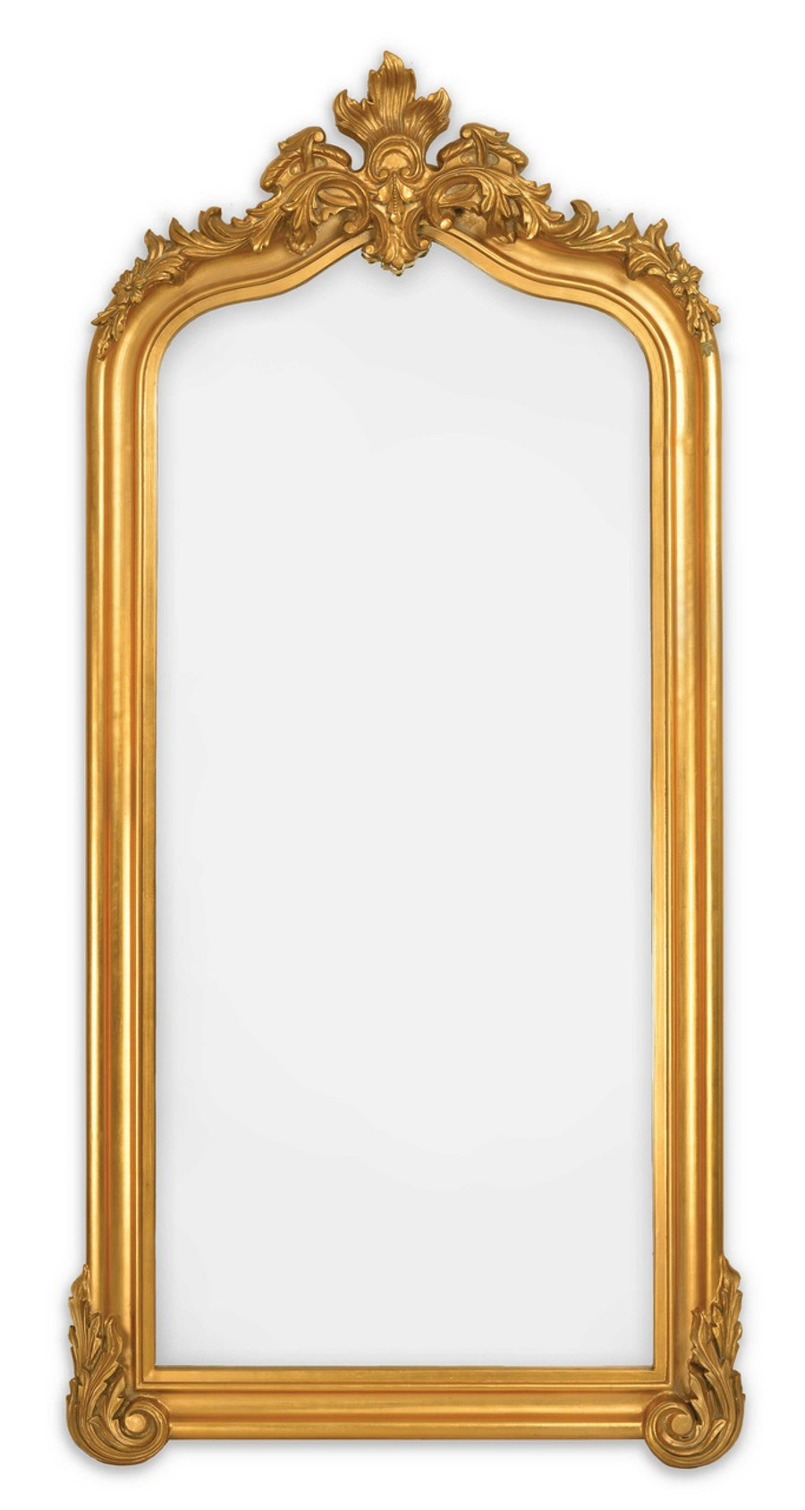 Blenheim Leaner Mirror, Antique Gold
