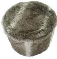 FOX FAUX FUR BEAN BAG SEAT EPS STUFFING COMFY 20X14in