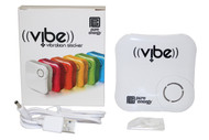 Pure Energy Vibe - Vibration Speaker Sticker White