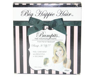 "AS SEEN ON TV ""BUMPITS"" BIG HAPPI HAIR  BONUS 5 PIECE SET BLACK"
