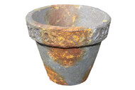 Rust Brown Terracotta Pot 3.5""