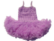 V Flourish Rosette Petti Toddler Sundress Tutu