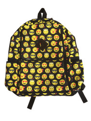 Emoticon Emoji Backpack School Bag Multi Color