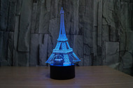 Phantom Lamps Eiffel Tower 3D LED Illusion Lamp