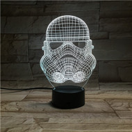 Phantom Lamps Storm Trooper 3D LED Illusion Lamp