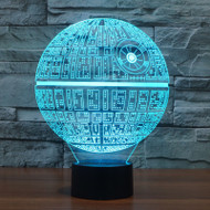 Phantom Lamps Death Star 3D LED Illusion Lamp