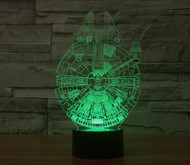 PHANTOM LAMPS MILLENNIUM FALCON 3D LED ILLUSION LAMP