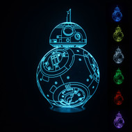 PHANTOM LAMPS BB8 3D LED ILLUSION LAMP