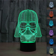 PHANTOM LAMPS DARTH VADER 3D LED ILLUSION LAMP