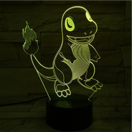 PHANTOM LAMPS CHARMANDER 3D LED ILLUSION LAMP
