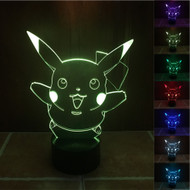 PHANTOM LAMPS PIKACHU 3D LED ILLUSION LAMP