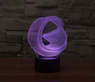 PHANTOM LAMPS ABSTRACT B 3D LED ILLUSION LAMP