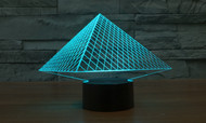 PHANTOM LAMPS PYRAMID 3D LED ILLUSION LAMP