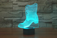 PHANTOM LAMPS BOOT 3D LED ILLUSION LAMP