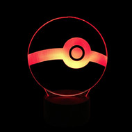 PHANTOM LAMPS POKE BALL 3D LED ILLUSION LAMP
