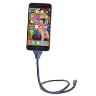 Rolling Mobile iPhone Car Charger/Stand USB Cable Black