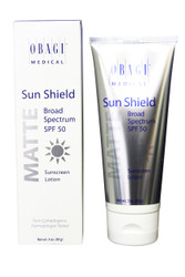 Obagi Medical Sun Shield Matte Broad Spectrum SPF 50 Sunscreen 3 Oz NEW