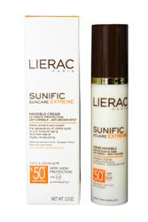 LIERAC SUNIFIC SUNCARE EXTREME SPF 50+ CREAM 50 ML (2.0 OZ) FACE DECOLLETE