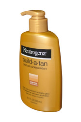 NEW- NEUTROGENA BUILD A TAN GRADUAL SUNLESS LOTION - CONTROL YOUR SHADE 6.7 OZ