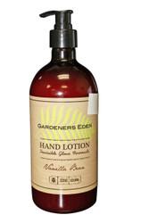 Gardeners Eden Hand Lotion Glove Formula Vanilla Bean 22 OZ | 650 ML