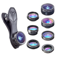 RETINA 7 in 1 IPhone Lens - Transform Your iPhone Into A Professional Quality Camera - Fish Eye Lens - Macro Lens and Wide Angle Lens - Zoom Lens for IPhone 8, 7, 6s, 6, 5s & Most Smartphones