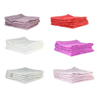 "Miracle Spa by Barefoot Bamboo Washcloth Set 6 Pk (14""x14"")"
