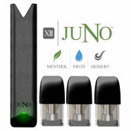 Juno Starter Kit Twelve MENTHOL / FRUIT / DESSERT