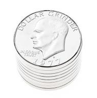 1977 Eisenhower Dollar Grinder