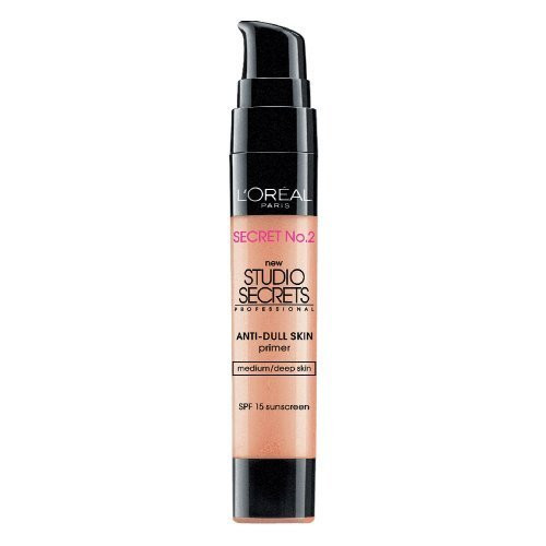 L'Oreal Studio Secrets Color Correcting Anti-Dull Primer Medium/Deep