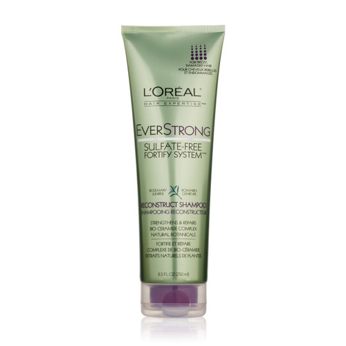 L'Oreal EverStrong Fortify System Reconstruct Shampoo Front