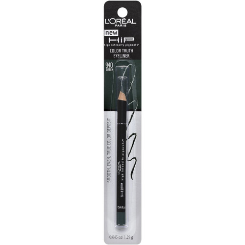 L'Oreal HiP Color Truth Eyeliner Green 940