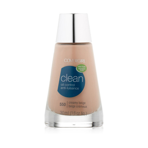 CoverGirl Clean Oil Control Anti-Luisance Liquid Creamy Beige Front
